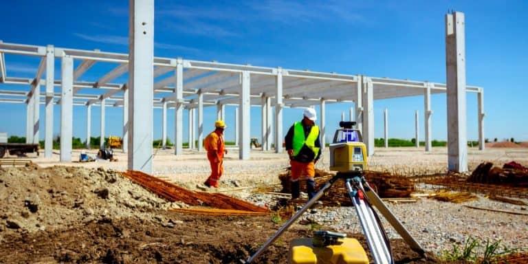 3D Laser Scanning on Construction Site
