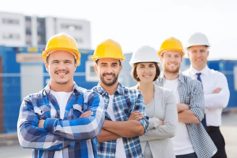 Construction Union Workers