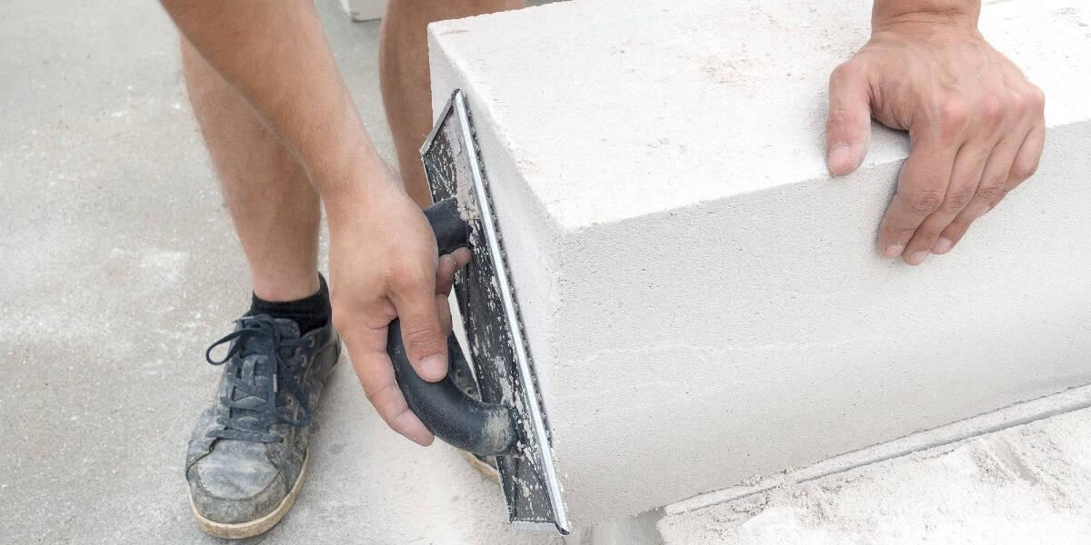 Aircrete Blocks Installation