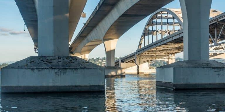 Underwater Concrete Bridge Piers