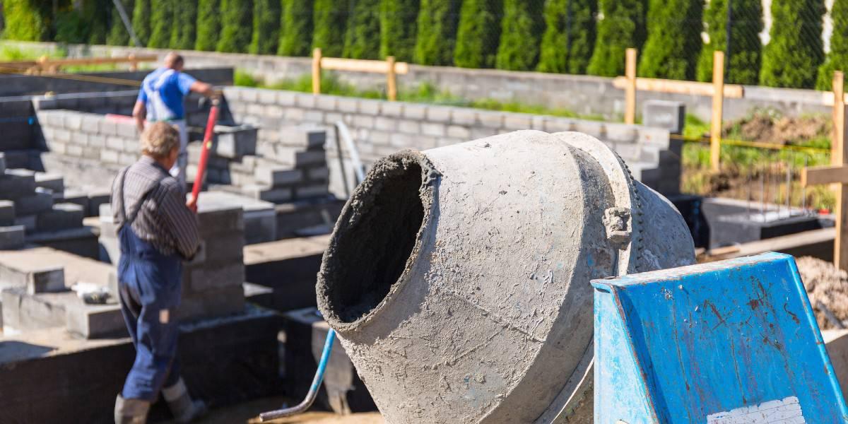 Ferrock Concrete Mixer