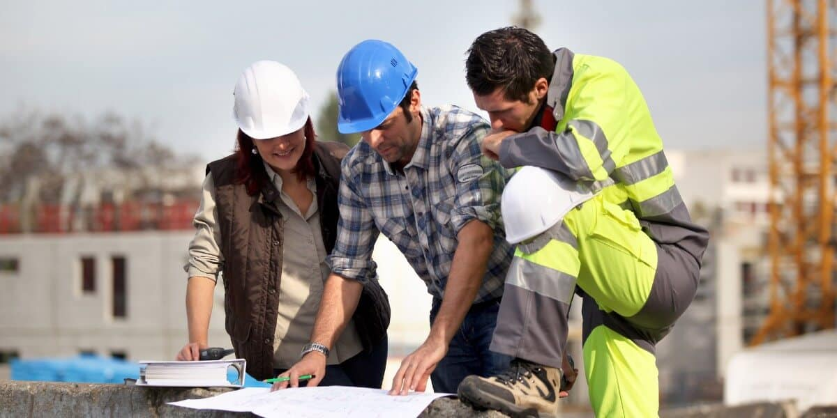 Construction Managers at Jobsite