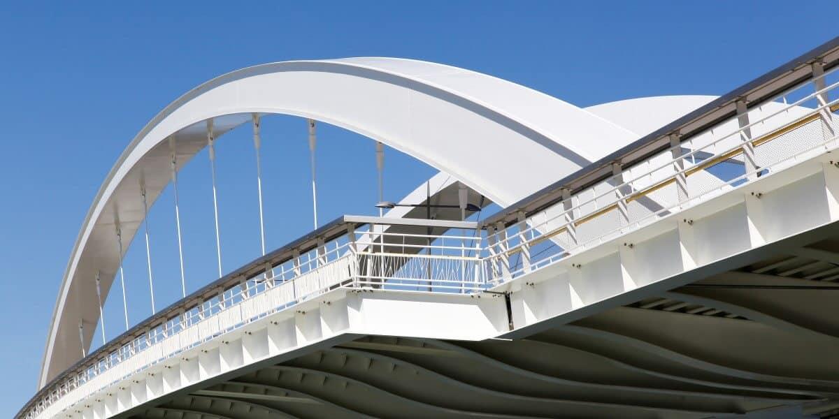 Steel Suspension Bridge