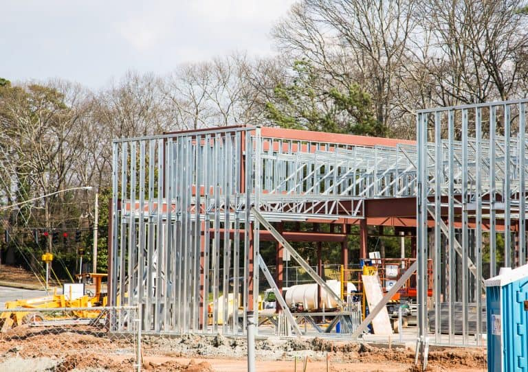 Steel Studs and Beams