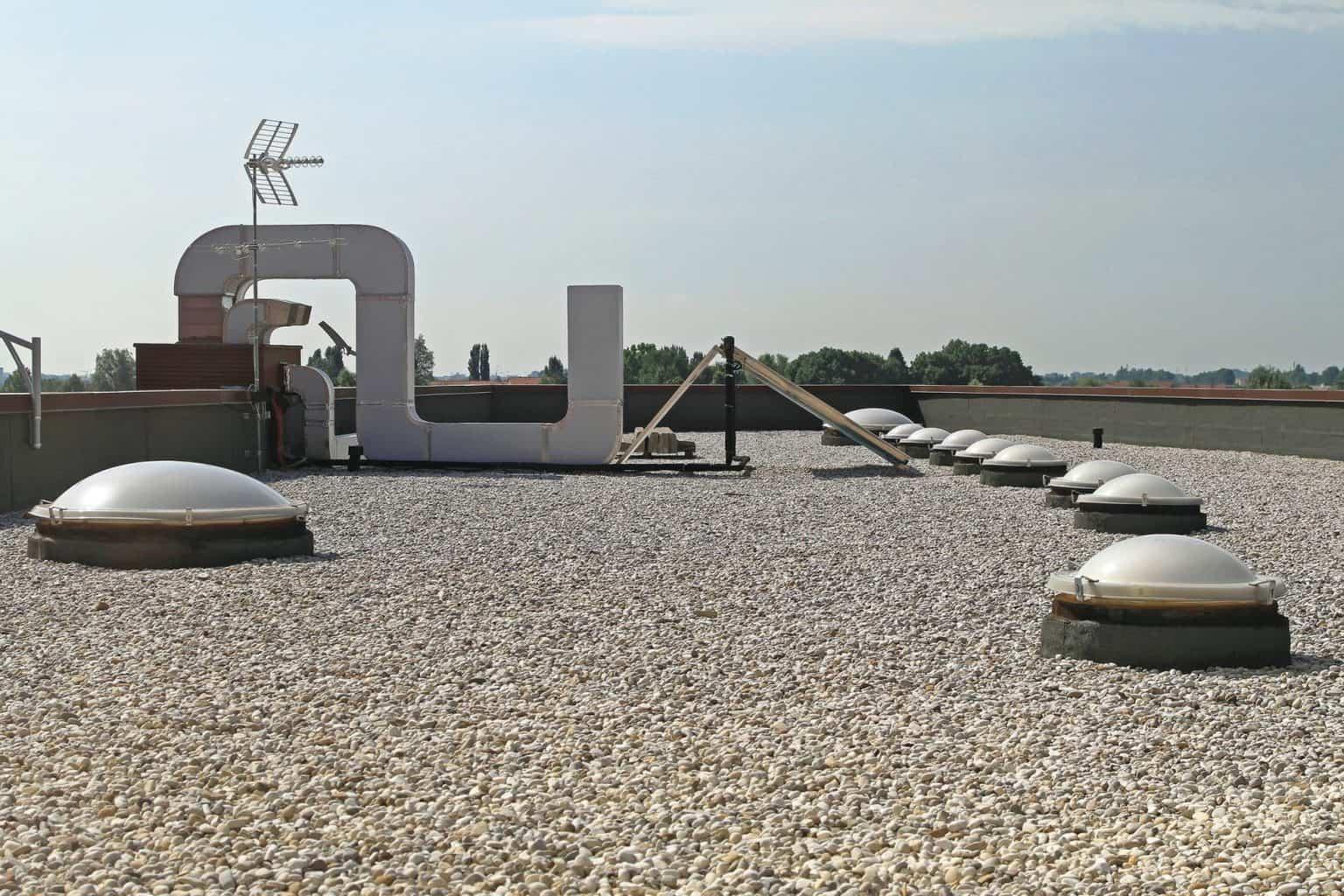 Gravel Flat Roof