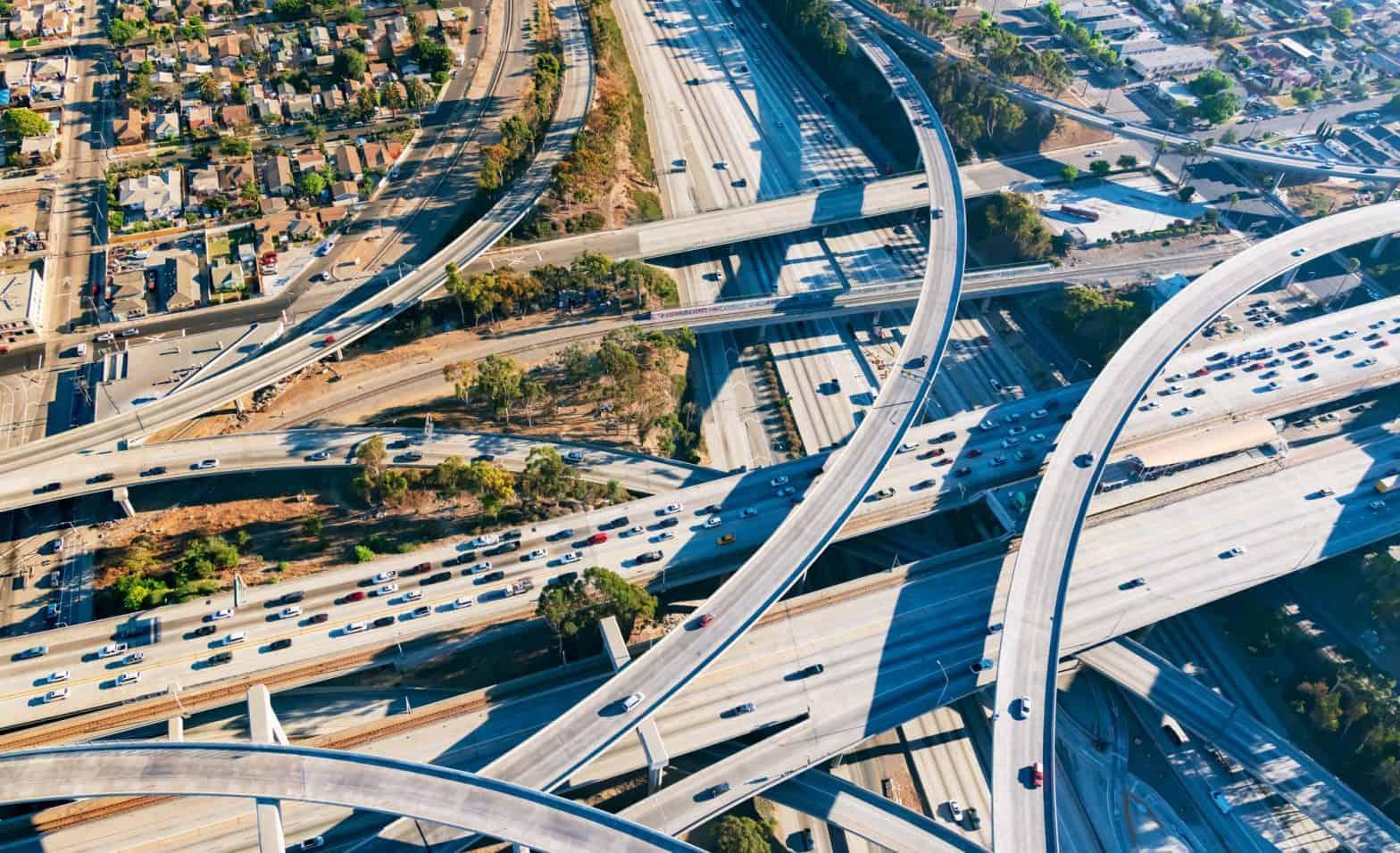 Interconnecting US Roads